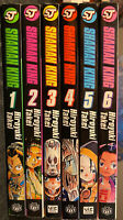 Shaman King Manga 1, 2, 3, 4, 5, 6 Viz Graphic Novel OOP