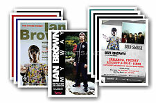 IAN BROWN - 10 promotional posters  collectable postcard set # 1