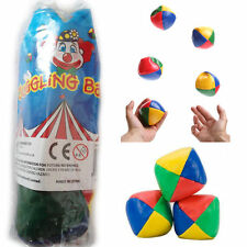 3 Bright Color Juggling Balls Kids Juggle Activity Outdoor Circus Toys Party Fun