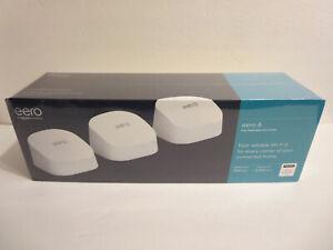 Amazon eero 6 Mesh Wi-Fi 6 System (3-pack) (Model: M110311)