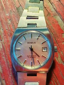 Vintage Benrus Automatic 17 Jewel Men's Watch