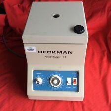 Beckman Microfuge II Benchtop Centrifuge