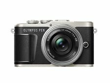Olympus PEN E-PL9 Mirrorless Camera + 14-42mm EZ Lens - Black
