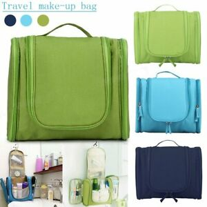 Toiletry Bag with Hanging Hook Organizer for Travel Makeup Cosmetic Accessories