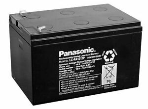 2pcs set Panasonic Sealed lead acid battery 12V 12Ah LC-RA1212 UPS Ebike Battery