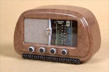 MINERVA modello 506/1, Radio D'Epoca in miniatura, riproduzione anno 1948