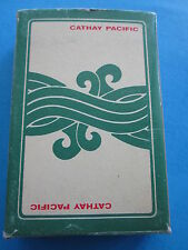 VTG CATHAY PACIFIC AIRLINES PLAYING CARDS COMPLETE CARDS open box airlines