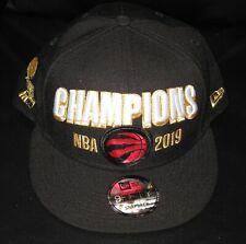 "New Era TORONTO RAPTORS ""2019 NBA CHAMPIONS"" OFFICIAL LOCKER ROOM SNAPBACK CAP"