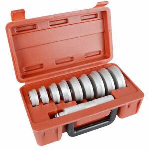 11pc Aluminium Wheel Oil Bush Bearing Race Press Seal Driver Tool Set Installer