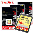 SanDisk 16GB / 32GB / 64GB Extreme UHS-I U3 SD card 90MBs Full SD XC Memory card