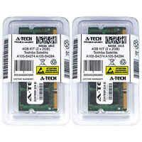 4GB KIT 2 x 2GB Toshiba Satellite A105-S4274 A105-S4284 A105-S4294 Ram Memory
