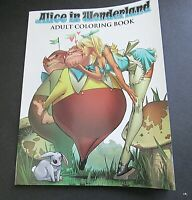 Alice in Wonderland Adult Coloring Book 2016, Paperback Zencope
