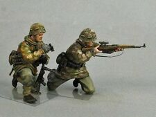 1:35 SCALE Resin Model Figures Kit WW2 German Sniper Team (2 figurines) 1/35
