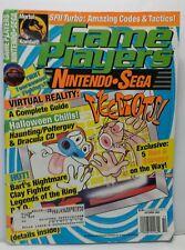 Game Players Magazine Nintendo Sega October 1993 Ren & Stimpy