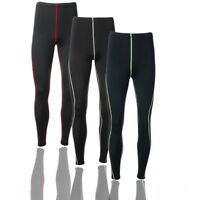 Herren Trainingshose Lang Hose Sportshose Laufhose Kompression Leggings Pants P/