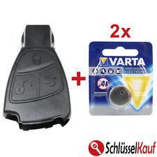 MERCEDES BENZ Autoschlüssel 3 Tasten Gehäuse W168 W202 W203 W210 W211 + 2x VARTA