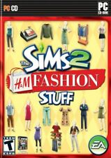 The Sims 2: H&M Fashion Stuff - Expansion Pack Windows PC Computer Game LOW SHIP