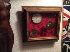 Antique Octava 8 day Extra large pocket watch 15 Jewels Enamel face