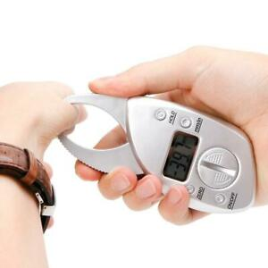 Digital Display LCD Body Fat Caliper Skin Fold Analyzer