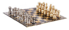 Magnetic Chess Set & Board, Dolls House Miniature, 1.12 Scale