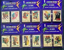 6 - 1991-92 SKYBOX BLISTER PACKS - 62 CARDS PER PACK JORDAN INSERTS - ROOKIE OT