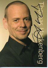Autogramm - Thomas Hackenberg