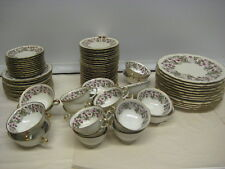 """Royal York China """"Red Raspberry""""  Set of 80 Pieces 1950's Rare 4 - Germany"""