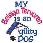 My Belgian Tervuren is An Agility Dog Sweatshirt - DC1740L Size S - XXL