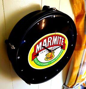 Marmite Upcycled drum clock
