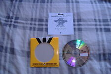 MUSE BLACK HOLES & REVELATIONS AMERICAN PROMO CD VERY GOOD CONDITION VERY RARE!