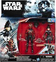 Hasbro Star Wars Rebels Disney Darth Maul & Seventh Sister Inquisitor NEW