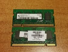 Memoria 1GB RAM 2x512MB ddr2 HP Compaq Presario Notebook V6000 Serie (DDR2-5300)