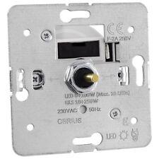 Dimmschalter Dreh-Dimmer OBRIUS für max. 10 dimmbare LED Leuchtmittel, 0-100W