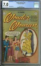 WONDER WOMAN #38 CGC 7.0 CR/OW PAGES