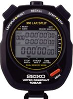 SEIKO S141 300-Lap Memory Stopwatch for Aquatic Sports
