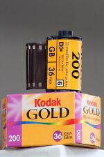 pellicules photo 200 iso asa Lot 6 films 36 périmés Kodak Gold le top ! b.état