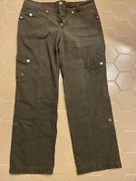 Style & Co.  Women's Brown Cargo pant  Size 12   EUC