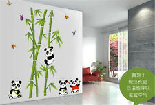 Panda bamboo Home Decor Removable Wall Sticker/Decal/Decoration