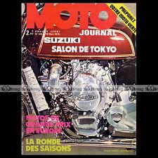 MOTO JOURNAL N°143 SALON DE TOKYO 74 ★ KENNY ROBERTS ★ FLANDRIA GRAND PRIX 1973