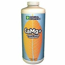General Hydroponics CaMg+ 1 Quart 32oz - organic ca mg plus qt calcium cal mag