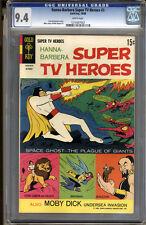 Hanna-Barbera Super Tv Heroes #3 Cgc 9.4 Nm Wp Universal Cgc #1210307003