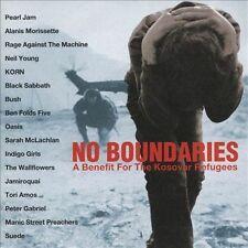 No Boundaries: Benefit for the Kosovar Refugees CD PEARL JAM black sabbath bush