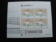 PORTUGAL - timbre yvert et tellier europa bloc n°55 n** - stamp portugal (A)