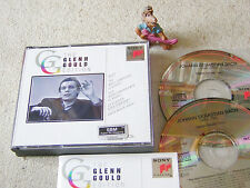 GLENN GOULD Edition BACH Well-Tempered Clavier 1, 1993 2CD Box SONY SM2K 52600