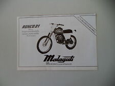 advertising Pubblicità 1979 MALAGUTI RONCO 21 50 cc