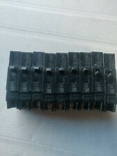 Ge Tey120, 20 Amp, 277 Volt, 1 Pole Circuit Breaker (1) Lot Of (9)