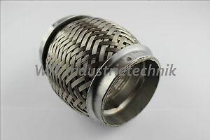 Flexrohr 76mm 76,1mm 63,5mm 89mm 60mm 70mm 55mm 42,4  1.4301 diverse Abmessungen