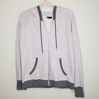 Champion French Terry Full Zip Jacket Gray XL Sweatshirt Hooded Elite Loungewear