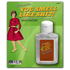 You Smell Like Sh*t Hand Sanitizer - 2 oz - Silly Gag Gifts - Antibacterial gel