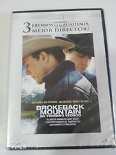 BROKEBACK MOUNTAIN HEATH LEDGER ANF LEE DVD SLIM ESPAÑOL ENGLISH NUEVA
